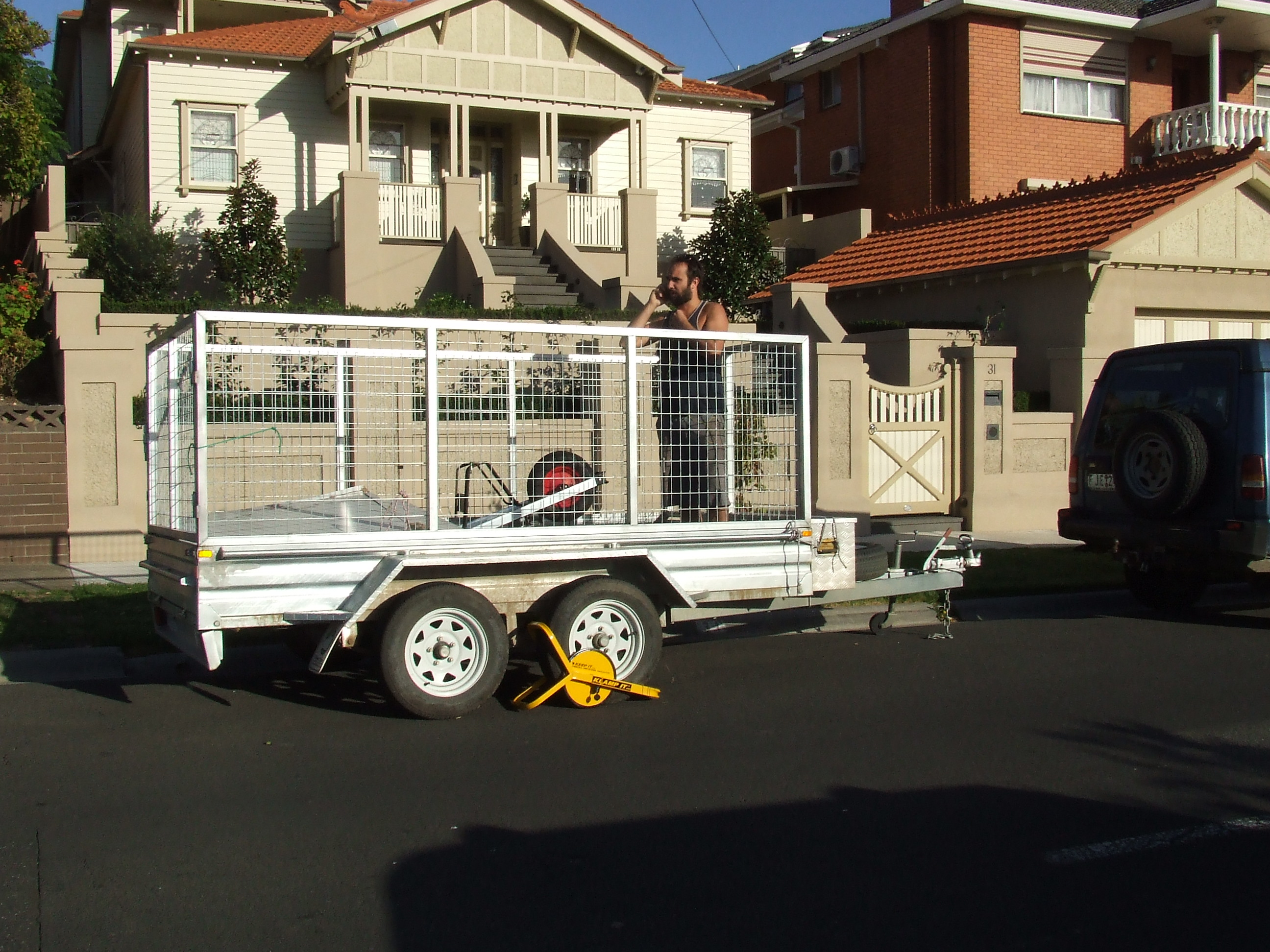 The trailer stolen in 2015.