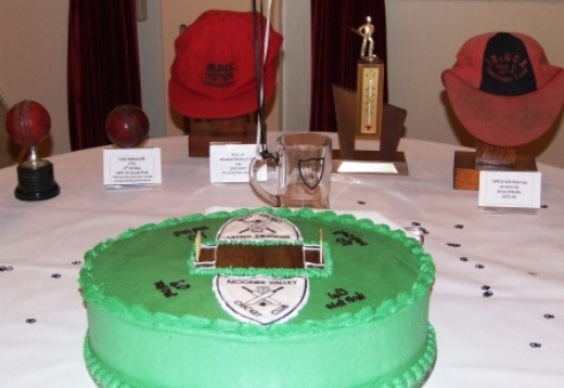 *The 40th anniversary cake, with some of our greatest memorabilia - including Colin Netherclift's famous 9/22 ball.