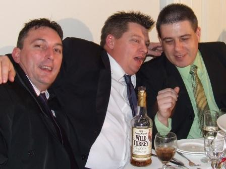 *Wild Turkeys: L-R Jim McKenzie, Mark Gauci and Daniel Phillips.