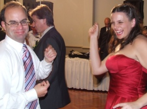 *Dancing up a storm: Michael Cumbo and Kimmie Capocchi.
